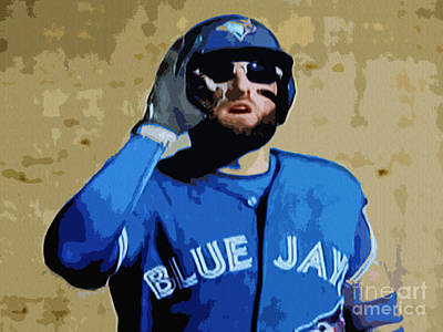 Kevin Pillar Art Print