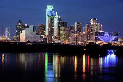 Photograph - Jerry's Dallas Skyline by Rospotte Photography