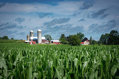 Photograph - Kewaskum Farm I by James Meyer