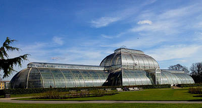 Photograph - Kew's Palm House by David French