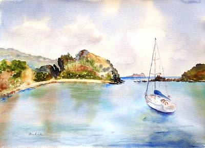 Painting - Key Bay, Peter Is. by Diane Kirk