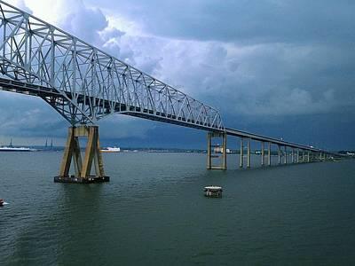 Photograph - Key Bridge by Van Corey