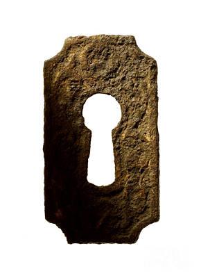 Meta Photograph - Key Hole by Tony Cordoza