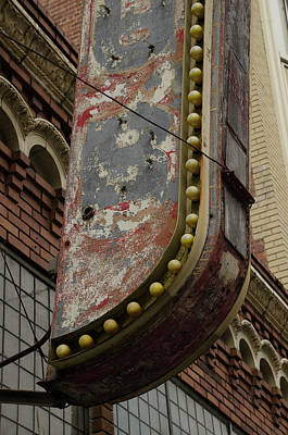Streetshot Photograph - Key Klub, San Francisco, California, Detail by Erik Burg