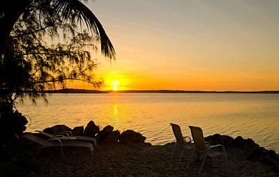 Mans Best Friend - Key Largo Sunrise by Chris Thaxter