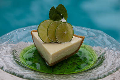 Key Lime Pie 25 Art Print
