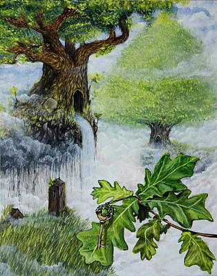 Painting - key by Mariusz Zawadzki