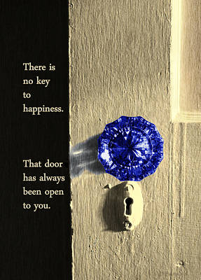Photograph - Key To Happiness by Deborah Smith