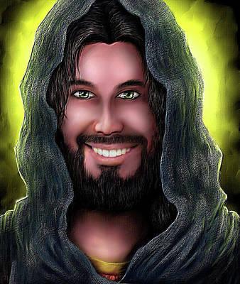 Digital Art - Key To Heaven by Karen Showell
