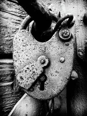 Photograph - Key To My Heart by Karen Stahlros