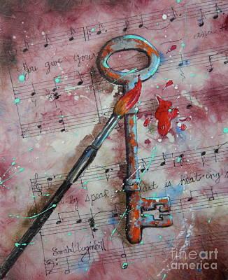Key To The Music Original by Sarah Luginbill