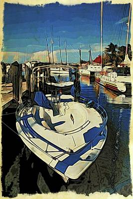 Photograph - Key West Bow Of Boat by Alice Gipson