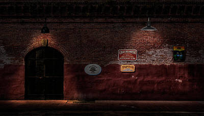 Mallory Square Key West Wall Art - Photograph - Key West Cigar Bar Back Entrance by Frank J Benz