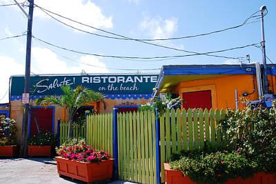 Key West Colors Art Print by Susanne Van Hulst