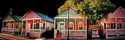 Photograph - Key West Conch Houses by Perry Frantzman