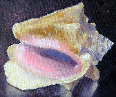 Key West Conch Art Print by Lisa Boyd