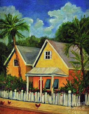 Up Up And Away - Key West Cottage by Carolyn Shireman