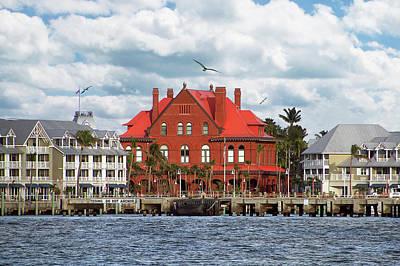 Photograph - Key West Custom House by Bob Slitzan