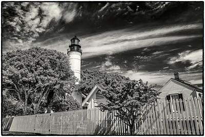 Photograph - Key West Florida Lighthouse Dsc01554_16 by Greg Kluempers