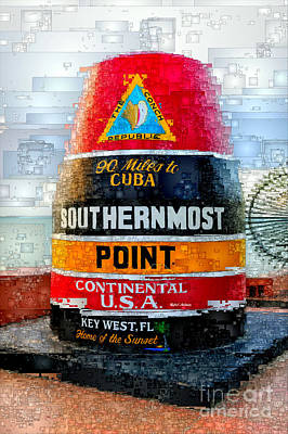 Digital Art - Key West, Florida by Rafael Salazar