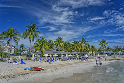 Photograph - Key West Florida Southern Most Beach In Us Dsc01606_16 by Greg Kluempers