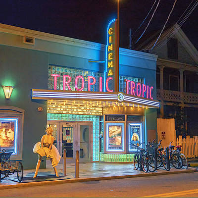 Photograph - Key West Florida Tropic Cinema Dsc01720_16 by Greg Kluempers
