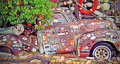 Island .oasis Photograph - Key West Junk Truck II by Chris Andruskiewicz