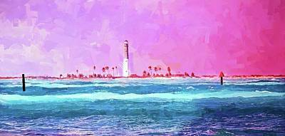 Photograph - Key West Lighthouse by Alice Gipson