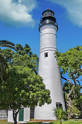 Photograph - Key West Lighthouse by Bob Slitzan