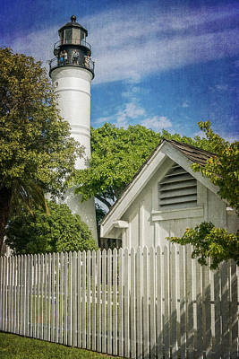 Photograph - Key West Lighthouse Dsc01547_16 by Greg Kluempers