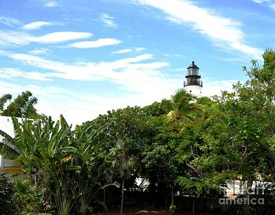 Photograph - Key West Lighthouse by John Black