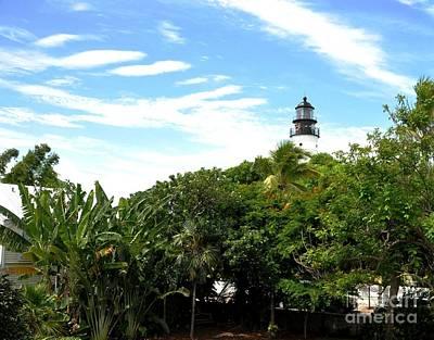 Hemingway House Wall Art - Photograph - Key West Lighthouse by John Black