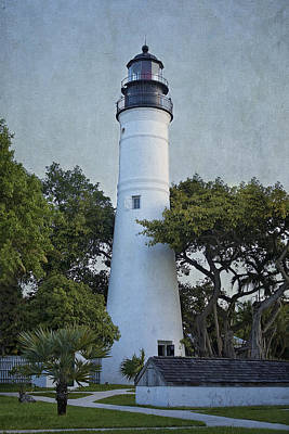 Key West Lighthouse Art Print by Kim Hojnacki