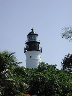 Photograph - Key West Lighthouse by Nancy Taylor