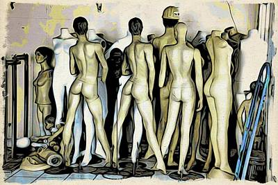 Photograph - Key West Mannequins by Alice Gipson