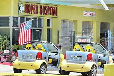 Photograph - Key West Moped Hospital by Janette Boyd