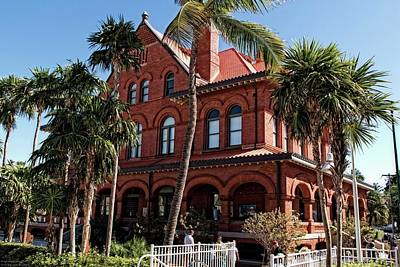 Photograph - Key West Museum Of Arts And History by Hany J
