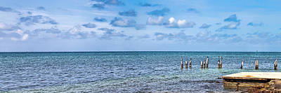 Photograph - Key West Ocean View Panorama by Bob Slitzan