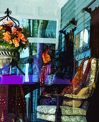 Photograph - Key West Porch by Susan Vineyard