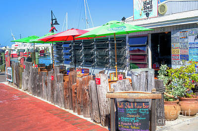 Photograph - Key West Raw Bar by Ules Barnwell