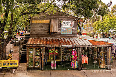 Photograph - Key West Shopping by Kay Brewer