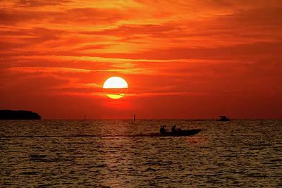 Photograph - Key West Sunrise 22 by Bob Slitzan