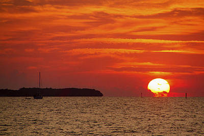 Photograph - Key West Sunrise 23 by Bob Slitzan