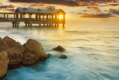 Of The Ocean Photograph - Key West Sunrise - Craigbill.com - Open Edition by Craig Bill