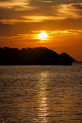 Photograph - Key West Sunrise Reflection by Bob Slitzan