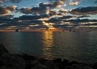 Photograph - Key West Sunset 10 by Bob Slitzan