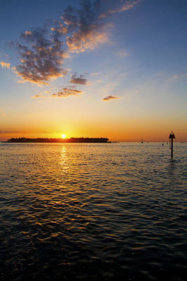 Photograph - Key West Sunset 23 by Bob Slitzan