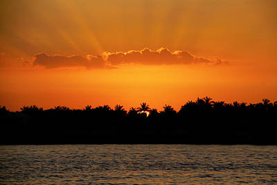 Photograph - Key West Sunset 25 by Bob Slitzan