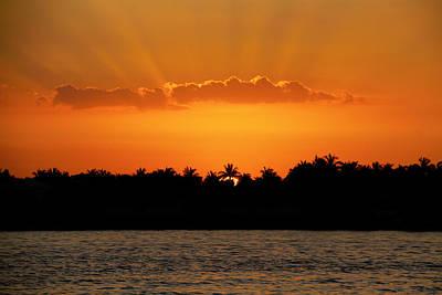 Photograph - Key West Sunset 25 by Bob Slitzan