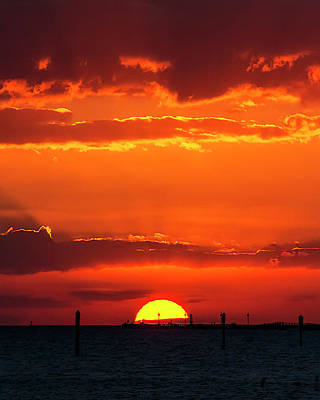 Photograph - Key West Sunset 30 by Bob Slitzan
